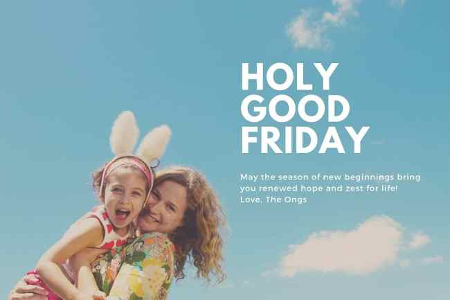 Good Friday 2020 Greetings Quotes Images Download