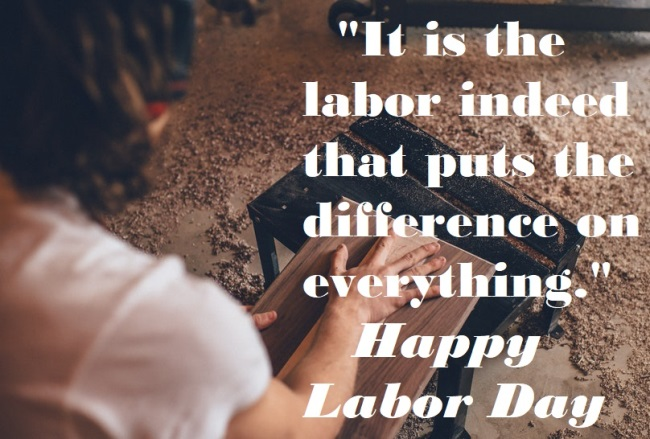 Labor Day Quotes 2020 and Sayings Images