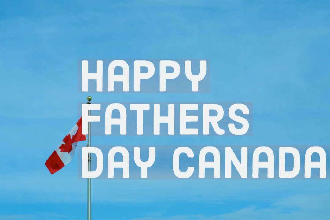 Father's Day 2020 in Canada